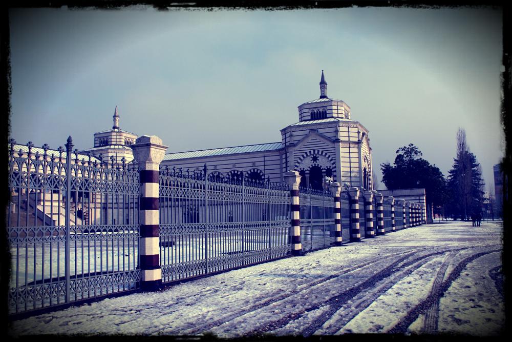 Cimitero Monumentale di Milano - Esterno