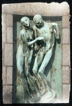 Adolfo Wildt - Monumento funerario a Körner (Milano, Cimitero monumentale)