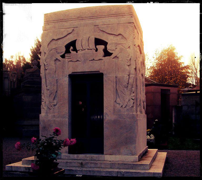 Edicola Toscanini - Leonardo Bistolfi - Cimitero Monumentale Milano