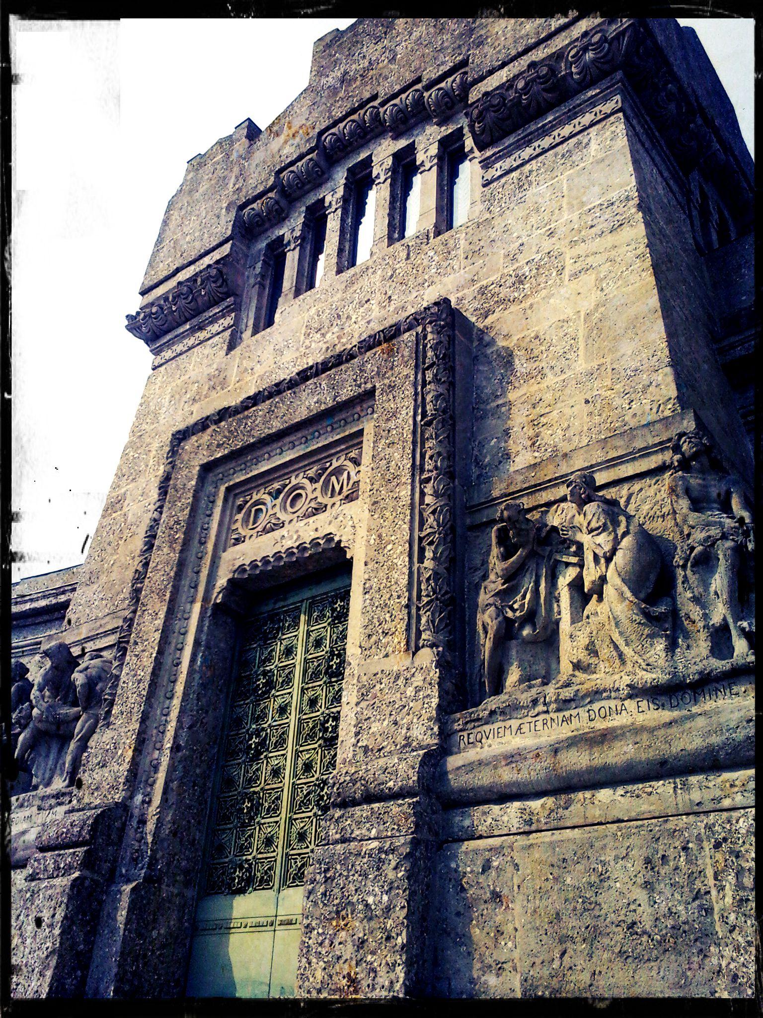 Cimitero Monumentale di Bergamo -Famedio