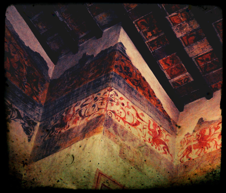 Decorazioni a grottesche Chiesa di San Giorgio Credaro