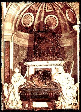 Gian Lorenzo Bernini - Tomba al Papa Urbano VIII (Roma, San Pietro in Vaticano ok