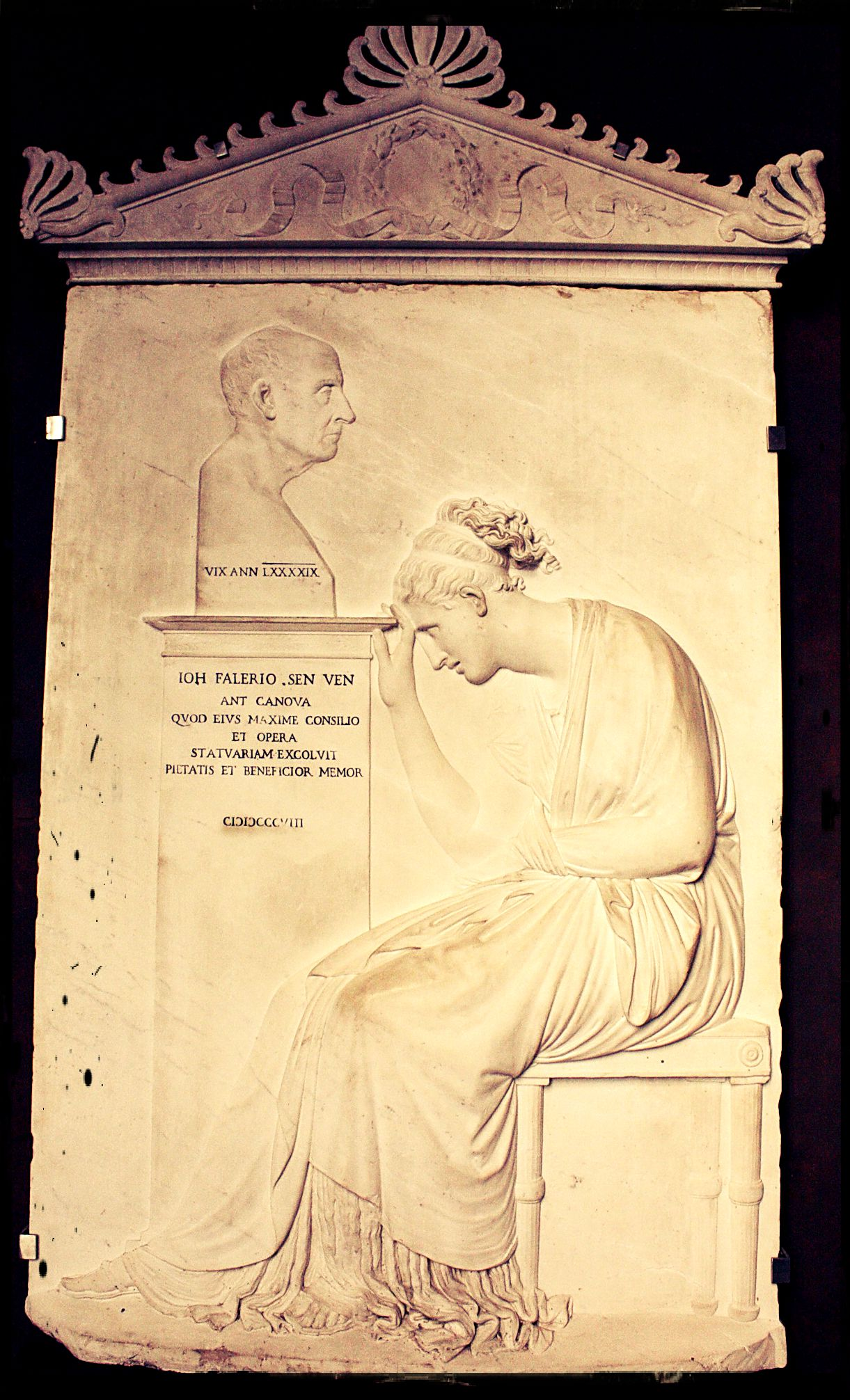 Antonio Canova, stele Giovanni Falier