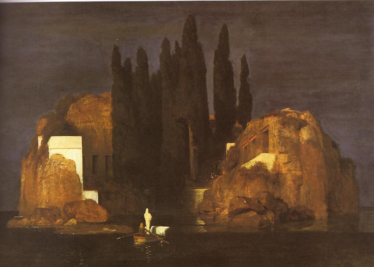 15. A. Boklin 'L'isola dei  morti'