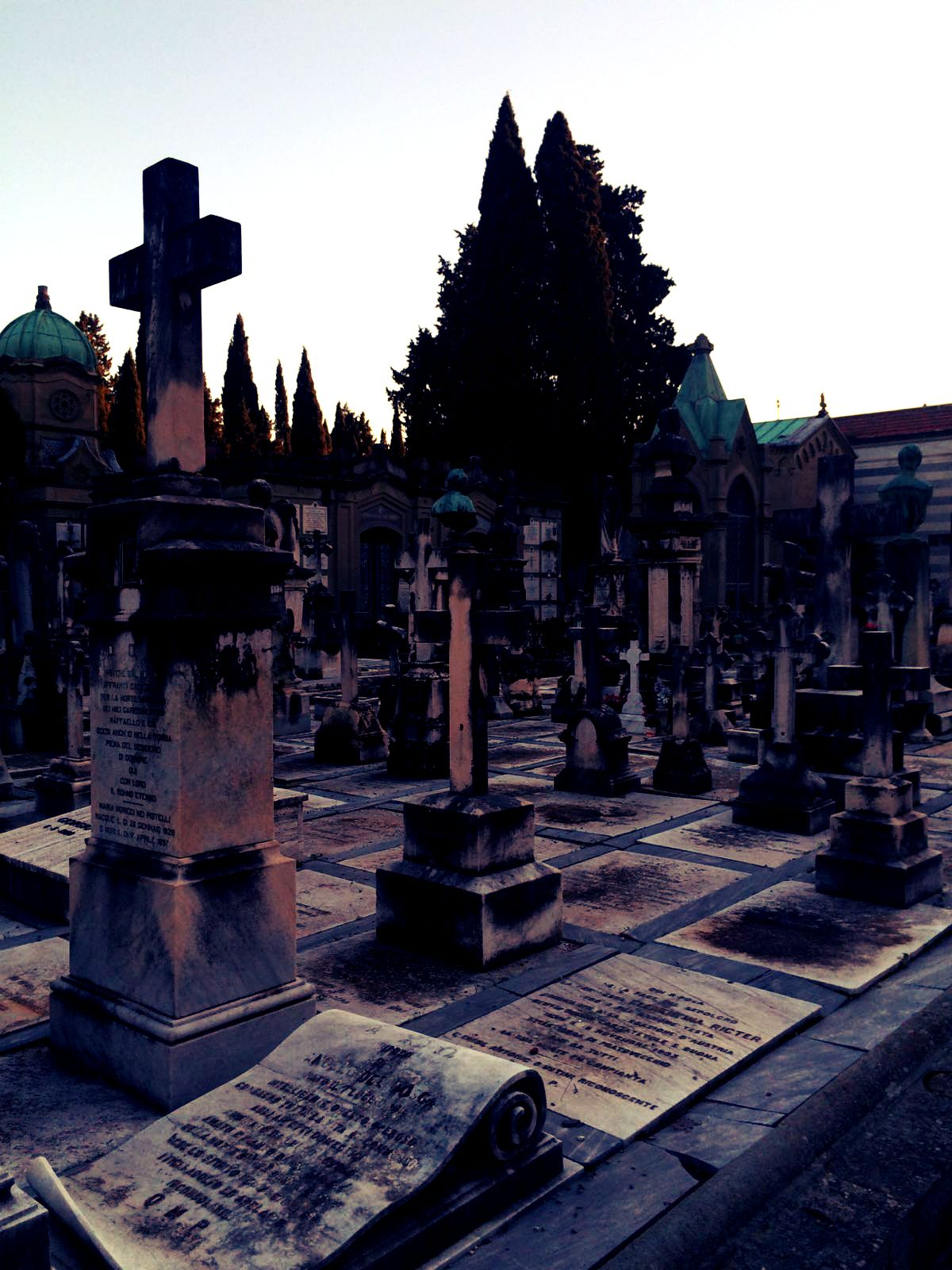 Cimitero delle Porte Sante a Firenze